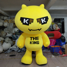 Lemon mascot costume fruit advertisement