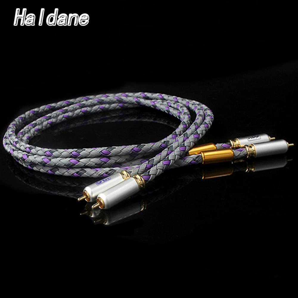 Hifi RCA Cable Hi-end 2rca male to 2rca male CD Amplifier Interconnect Rca Cable