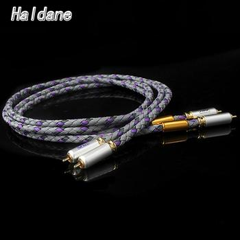 Haldane Pair HIFI XLO Signature S3-1 Singled-Ended RCA Cable CD Amplifier Interconnect Hi-end 2RCA to 2RCA Male Audio Cable