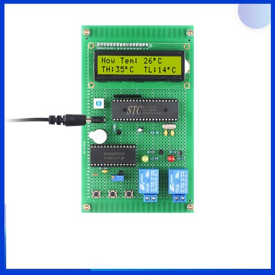:Based On 51 Microcontroller Thermistor Thermostat Design And Development Board DIY Intelligent Temperature Control System Ki