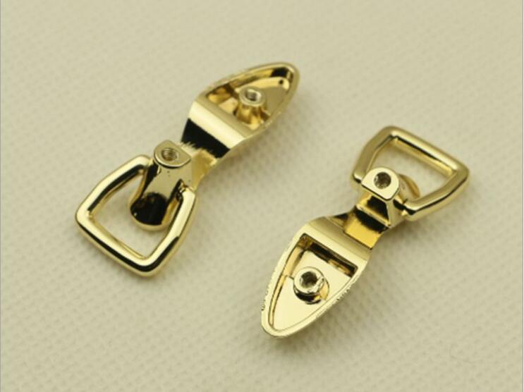 (100 unids/lote) venta al por mayor de Metal equipaje, bolso de hombro, correas de lados de forma de enlace de cadena hebilla accesorios de Hardware - 3