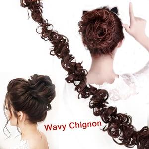 DIFEI, женские волосы, обмотка, волнистые, синтетические шиньоны для наращивания, для женщин, для ежедневного использования, высокотемператур...