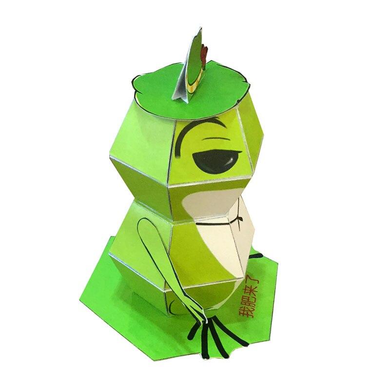 DIY Paper Animal Origami Kirigami Folding Discover Adorable Toys Scrapbook Decoration Paper Haruki Nakamura Paper Toys 2019 New