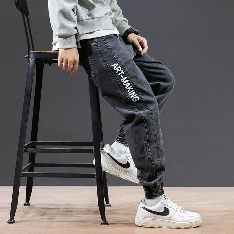VODOF  Ripped Jeans For Men  Blue Jeans  Regular  Pencil Pants  Full Length  Hip Hop  Denim  Skinny Jeans Men