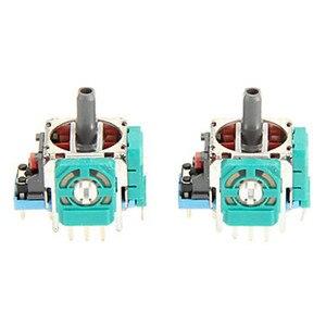 Image 4 - For PS4 Controller Repair Set L1 R1 L2 R2 Trigger Buttons 3D analog Joysticks Thumb Sticks Cap Conductive Rubber Screwdriver Kit