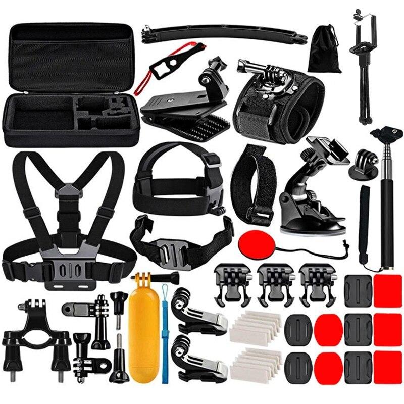 Puluz pkt39 50-em-1 acessórios da câmera de