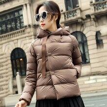 Female Winter Coat Ultra Light Down Jacket Puffer J