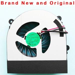 Image 1 - New original fan For Clevo W150 W150er W350 W350ETQ W370ETQ W370SKQ CPU Cooling Fan AB7905HX DE3 6 23 AW15E 010 6 23 AW15E 011