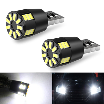2x LED T10 W5W Bulb Car Clearance Parking Lights For BMW E60 E90 E91 E92 E36 E30 E70 F10 F30 F20 E87 M3 M5 E39 E46 X5 E53 White image