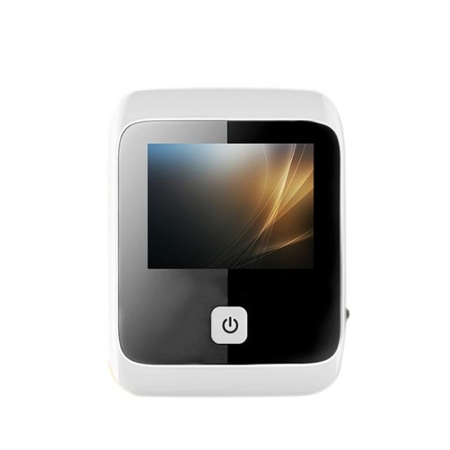 Умный электронный дверной звонок кошачий глаз для домашнего видео, умный дверной звонок кошачий глаз, цифровое дверное зеркало, ЖК-камера