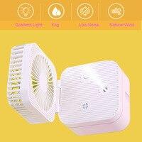 Mini 250ml usb umidificador aromaterapia difusor umidificador ultra sônico secador automático umidade absorvente|Umidificadores| |  -