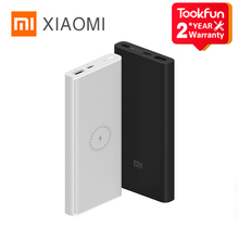 Портативное зарядное устройство Xiaomi Youth Edition 10000 мА/ч, 18 Вт Беспроводной Huawei Apple Внешняя батарея портативный мобильный телефон быстрое зарядн...