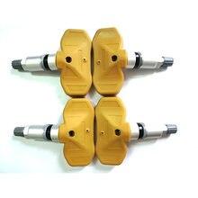 4 adet Cadillac-Chevrolet 2577-4007 lastik basıncı izleme sistemi TPMS sensörü 433MHZ 25774007