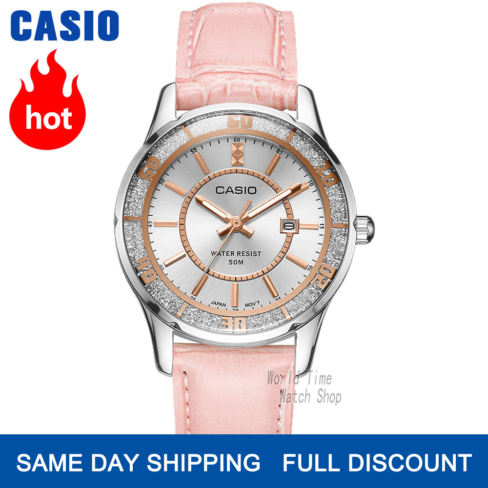 Casio Watch Women Watches Top Brand Luxury Set 50m Waterproof Quartz Ladies Watch Women Gifts Clock Sport Watch Reloj Mujer 1358