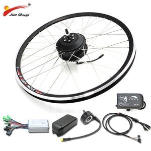 Free shipping electric bike kit 36V 500W ebike electric bicycle kit 20 26 27.5 28 inch 700C front rear electric wheel hub motor