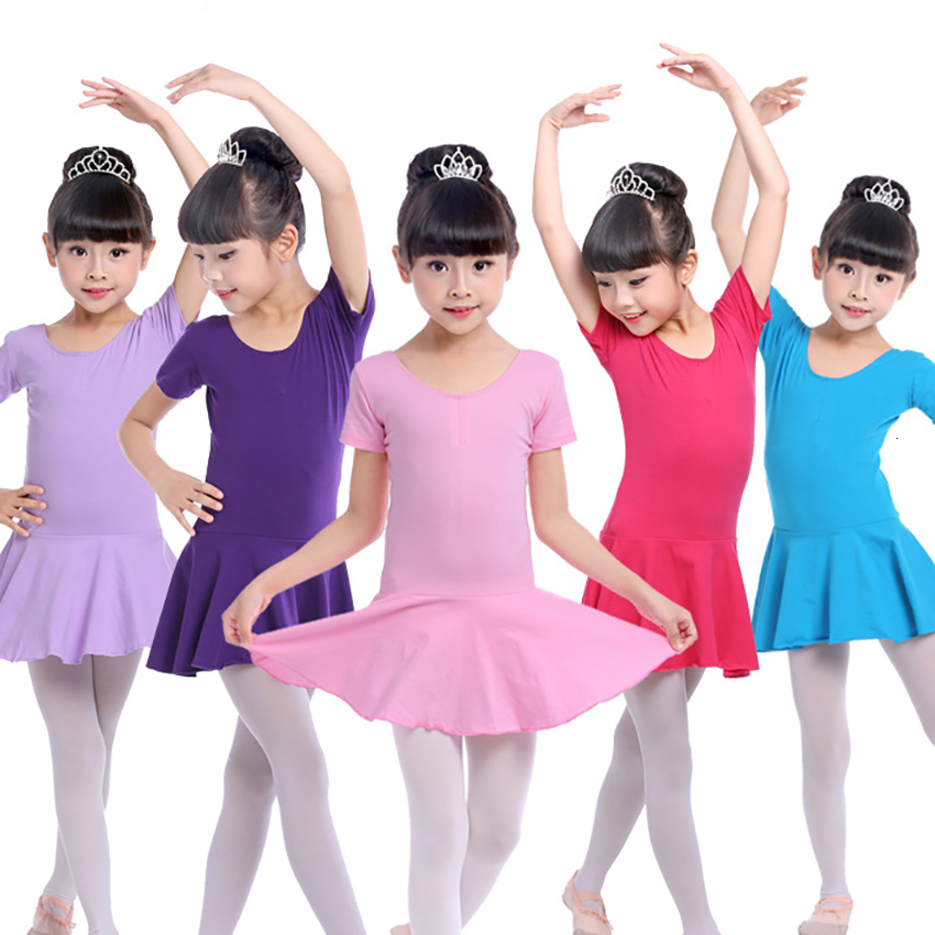100-170CM Ballet Clothing Practice Dance Baby Girl Adult Women Gymnastics Leotard Bodysuit Tutu Dance Wear Children's Day