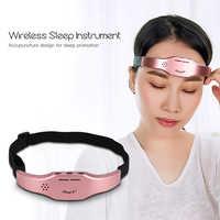 Niedrigen Frequenz Puls Stimulieren Kopf Massager Wireless Stress Relief Gehirn Massage Helm Unisex Schlaf Therapie Gerät Schlaf-beihilfen