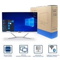 Ordenador todo en uno FHD, pantalla de 23,8 pulgadas, procesador Intel Core i5 8365U 8269U i7 8565U, Windows 10, Linux, oficina, Webcam incorporada