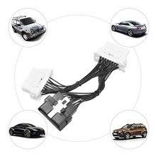 Câble d'extension de voiture OBD2, 16 broches, adaptateur de câble, compatibilité parfaite sans conflit