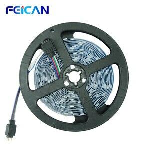 лента светодиодная Светодиодный ленточный светильник 5 м 5050SMD RGB 4pin Cutable светодиодный фонарь подсветка для гостиной ТВ ПОДСВЕТКА s