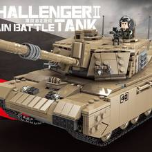 PRE-SALE XINGBAO Xb-06033 Challenger 2 модель танка маленькие частицы военные строительные блоки собранные развивающие игрушки