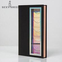SEXYSHEEP 5-Pair коробка для ресниц 3D норковые ресницы упаковка несколько стилей высокое качество материал коробка для ресниц