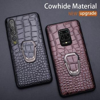 Leather Phone Case For Xiaomi Redmi Note 9 9s 8 7 Pro case Mi 10 9 9se 9T pro Note 10 A2 Lite A3 Poco X2 X3 F1 F2 Pro Max 3 Case