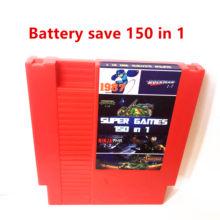 Batttery salvar! 150 in1 rockman 123456/double dragon 123/adventure island 1234/kirby para 8 bits 72 pinos ntsc & pal