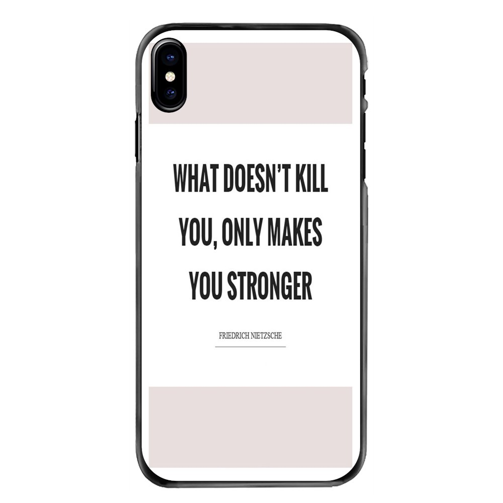 Accessories Phone Covers For Samsung Galaxy A3 A5 A7 A8 J1 J2 J3 J5 J7 Prime 2015 2016 2017 what doesn't kill you Phrases Print image