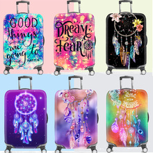 New 18-32inch Suitcase Dust Cover Luggage Protective Trunk Covers Trolley Baggage Case Thicker Elastic Cover Travel Accessories