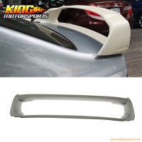 Fit For 2006 2011 Honda Civic 4Dr Mugen Style Rear Trunk Spoiler Wing (ABS) USA Domestic Free Shipping
