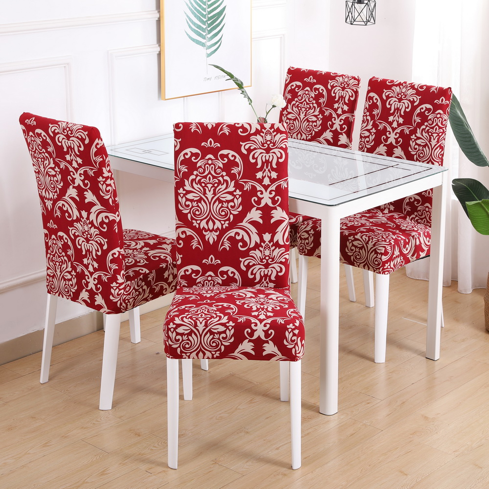 Stretch Dining Chair Covers Elastic Seat Slipcovers for Wedding Party Decor USA