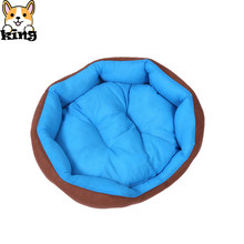 Dog Beds Fashion Bear Paw New Pet Dog Cat Bed House Soft Warm Kennel Nest Snuggly Pet Sleep Mat Sofa Teddy for Small Dogs(China)