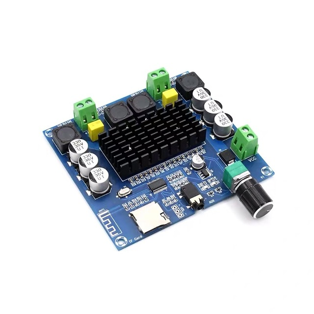 2*100W Bluetooth 5.0 Sound Amplifier Board TDA7498 Power Digital Stereo Receiver AMP for Speakers Home Theater Diy