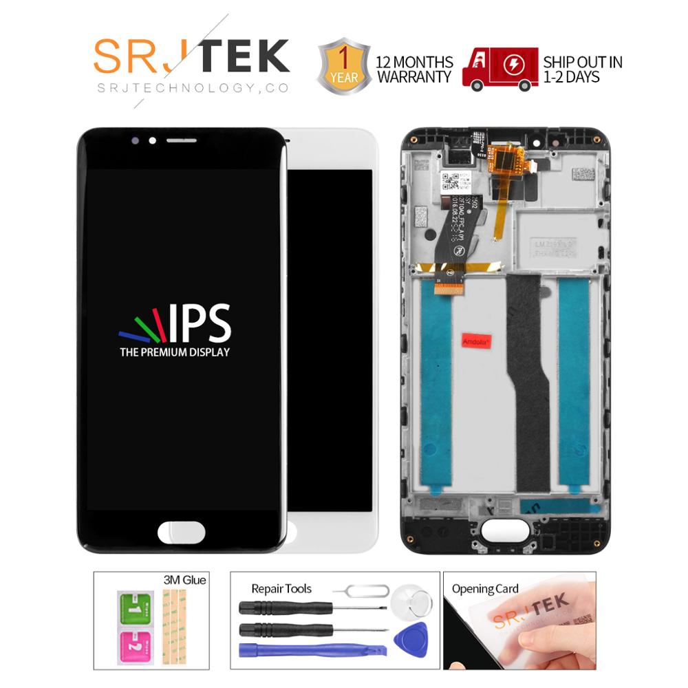 100% Tested 5.2 Inch 1280x720 For Meizu M5S Meilan 5S LCD Display Touch Screen Digitizer Assembly Replacement Parts M612H M612M