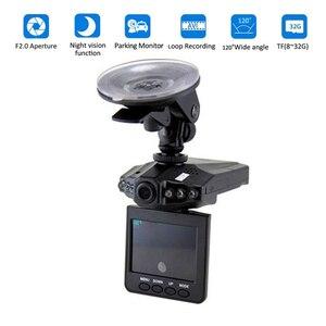 Car DVR VGA driving recorder dashcam Camera 170 Degree radar mirror 1080P cámara para auto Night version driving camera