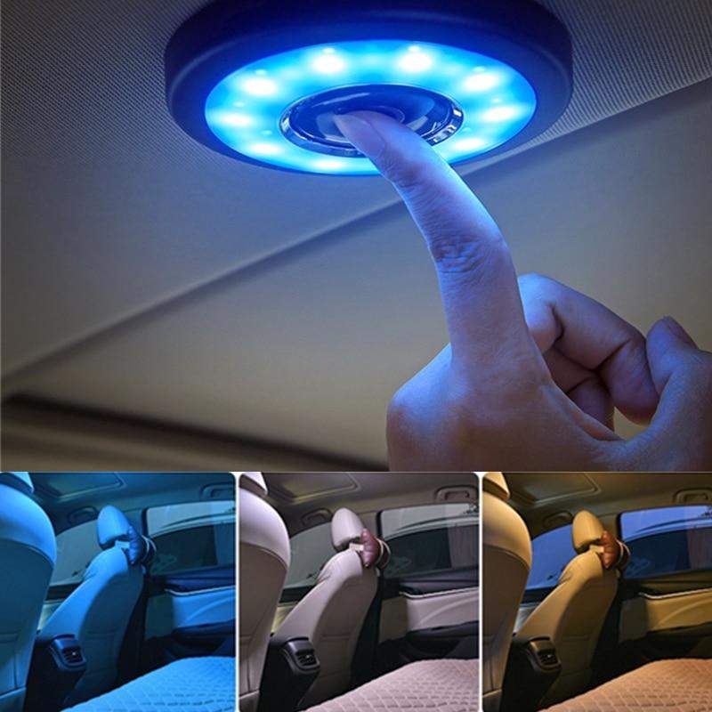Discoloration USB Rechargeable LED Portable Universal Wireless Indoor Reading Light For Hyundai I30 Tucson Solaris IX35 Elantra