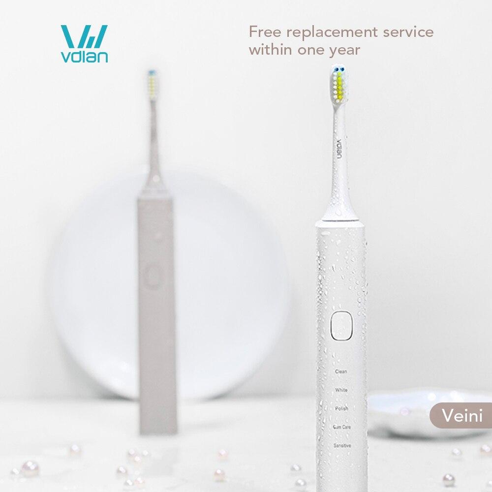 VDIAN Veini V2 Electric Toothbrush Ultrasonic Soft-bristled Electric Tooth Brush Smart Toothbrush USB Rechargeable For Couple