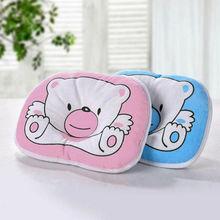 Poduszka dla dziecka noworodek anty płaski zespół głowy dla łóżeczka łóżeczko dziecięce wsparcie szyi tanie tanio Emmababy latex 0-3 miesięcy Kształtowanie poduszka Pamięci Kwalifikacje Zwierząt Prostokąt Baby Pillow Newborn Anti Flat Head Syndrome