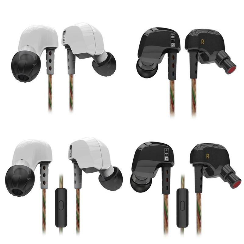 KZ HD9 Earphones HiFi Sport Earbuds Copper Driver In Ear Headset Earhook