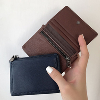 Wallet Girls Purses Leather Coin Purse Women Mini Bag Genuine Leather Casual Keys Card Cowhide Soft Convience Pouch High Quality
