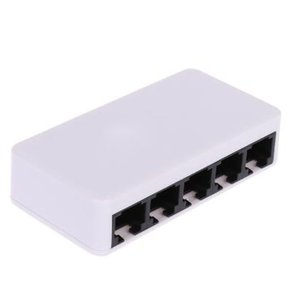 5 Ports Fast Ethernet RJ45 10/100Mbps Network Switch Switcher Hub Desktop laptop,Portable Travel Lan Hub power by Micro USB