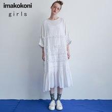 Imakokoniins рекомендовано белое платье средней длины оригинальный