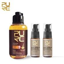 PURC Fast Grow Hair Essence Oil Hair Loss Treatment Help for Growth Hair and Thicken Hair  Shampoo Set