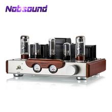 2020 Latest Nobsound EL34 Valve Tube Amplifier Stereo Hi Fi Single ended Class A Power Amp High end Brushed Metal Panel Amp
