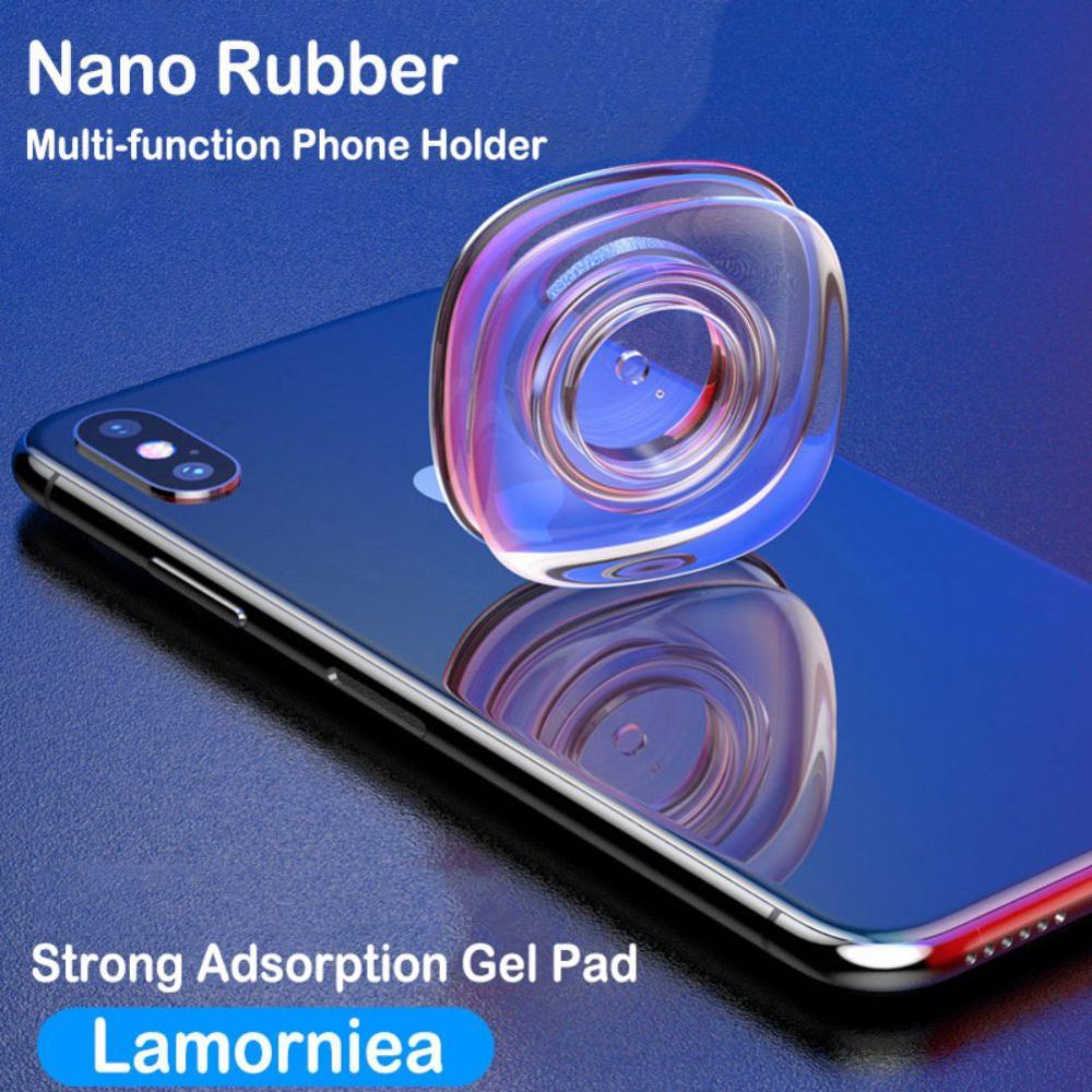 Universal Magic Nano Stickers No Trace Magic Nano Casual Paste Rubber Pad Wall Stickers For  Car Phone Holder Gel Paste