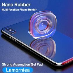 Uniwersalne magiczne Nano naklejki bez śladu magia Nano dorywczo wklej podkładka gumowa naklejki ścienne do telefonu samochodowego uchwyt żel wklej w Uchwyty samochodowe od Samochody i motocykle na
