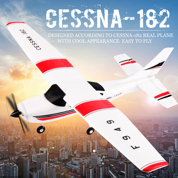 WLtoys F949 2.4G 3Ch RC Airplane Fixed Wing Plane Outdoor toys Drone RTF Upgrade version Digital servo propeller, with Gyroscope 2