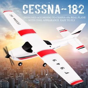 Wltoys f949 2.4g 3ch rc avião asa fixa avião brinquedos ao ar livre zangão bnf versão atualização servo hélice digital, pacote forte