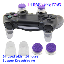 INTERPLANETARY Ps4 controller Thumbsticks Cover Game Trigger Extended Extender Grip Enhanced Cap For ps4 accessories(China)